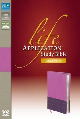 Life Application Study Bible-NIV-Large Print - Zondervan
