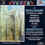 Lili Boulanger: Du fond de l'abime; Psaume 24 & 129; Vielle Priere Bougghique; Pie Jesu - Alain Fauqueur (soprano); Jean-Jacques Grunenwald (organ); Michel Sénéchal (tenor); Oralia Dominguez (contralto);...