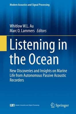 Listening in the Ocean - Au, Whitlow W L (Editor)