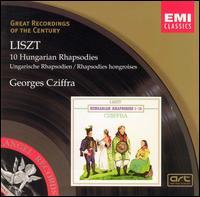 Liszt: 10 Hungarian Rhapsodies - György Cziffra (piano)