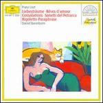 Liszt: Liebestraume; Réves d'amour; Consolations; etc.