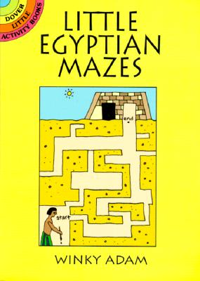 Little Egyptian Mazes - Adam, Winky, and Activity Books