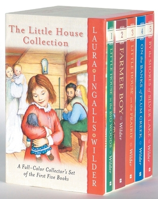 Little House 5-Book Full-Color Box Set: Books 1 to 5 - Wilder, Laura Ingalls