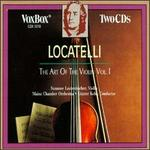 Locatelli: The Art of the Violin, Vol. 1