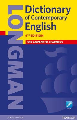 Longman Dictionary of Contemporary English 6 Cased and Online -