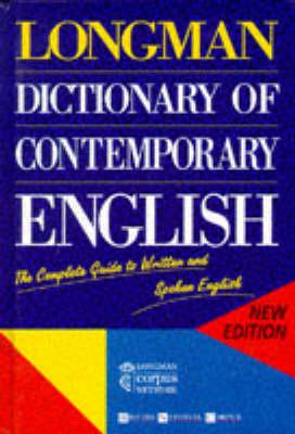 Longman Dictionary of Contemporary English - Longman Group