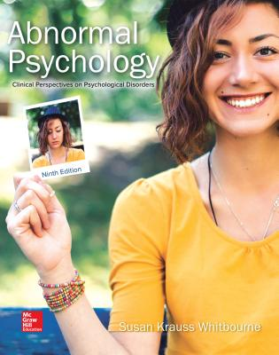Loose Leaf Abnormal Psychology: Clinical Perspectives on Psychological Disorders - Whitbourne, Susan Krauss, Professor