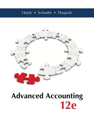 Loose Leaf Advanced Accounting with Connect Access Card - Hoyle, Joe Ben, and Schaefer, Thomas, and Doupnik, Timothy