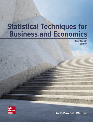 Loose Leaf for Statistical Techniques in Business and Economics - Lind, Douglas A