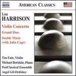 Lou Harrison: Violin Concerto; Grand Duo; Double Music (with John Cage)
