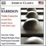 Lou Harrison: Violin Concerto; Grand Duo; Double Music (with John Cage)