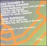 Louis Andriessen: Trilogy of the Last Day - ASKO Ensemble; Ferco Kol (soprano); Schoenberg Ensemble; Tomoko Mukaiyama (koto); Tomoko Mukaiyama (piano);...