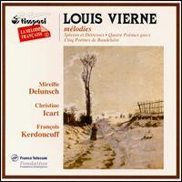 Louis Vierne: Premières - Christine Icart (harp); François Kerdoncuff (piano); Mireille Delunsch (soprano)