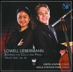 Lowell Liebermann: Sonatas for Cello & Piano