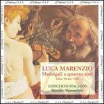 Luca Marenzio: Madrigali a quattro voci, Libro Primo 1585