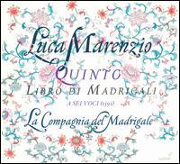 Luca Marenzio: Quinto Libro di Madrigali a sei voci (1591) - Daniele Carnovich (bass); Elena Biscuola (mezzo-soprano); Elena Carzaniga (alto); Francesca Cassinari (soprano);...