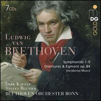 Ludwig van Beethoven: Symphonies 1-9; Overtures & Egmont Op. 84 -
