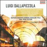 Luigi Dallapiccola: Three Questions with Two Answers; Piccola Musica Notturna; Due Pezzi; Variazioni; Partita