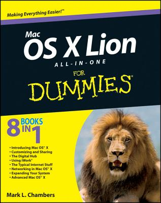 Mac OS X Lion All-in-One For Dummies - Chambers, Mark L.