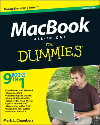 MacBook All-in-One For Dummies - Chambers, Mark L.