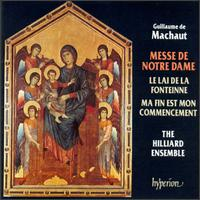 Machaut: Messe de Notre Dame - John Potter (tenor); Mark Padmore (tenor); Paul Hillier (bass); Rogers Covey-Crump (tenor); The Hilliard Ensemble