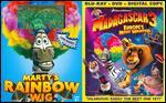 Madagascar 3: Europe's Most Wanted [2 Discs] [Blu-ray/DVD]