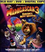 Madagascar 3: Europe's Most Wanted [2 Discs] [Includes Digital Copy] [UltraViolet] [Blu-ray]
