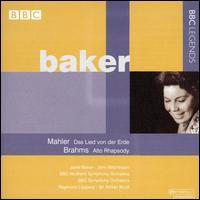 Mahler: Das Lied von der Erde; Brahms: Alto Rhapsody - Janet Baker (mezzo-soprano); John Mitchinson (tenor); BBC Symphony Men's Chorus (choir, chorus)