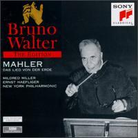 Mahler: Das Lied von der Erde - Ernst Haefliger (tenor); Mildred Miller (mezzo-soprano); New York Philharmonic; Bruno Walter (conductor)