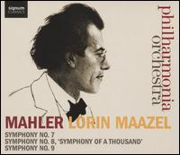 "Mahler: Symphonies Nos. 7, 8 ""Symphony of a Thousand"" & 9 - Ailish Tynan (soprano); Anne-Marie Owens (mezzo-soprano); Mark Stone (baritone); Sally Matthews (soprano);..."