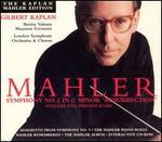"Mahler: Symphony No. 2 in C minor ""Resurrection"" - Alfred Sendry (spoken word); Alois Reiser (spoken word); Anna Mahler (spoken word); Benita Valente (soprano); Benjamin Kohon (spoken word); Frank Kuchynka (spoken word); Herbert Borodkin (spoken word); Herman Martonne (spoken word)"