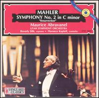 Mahler Symphony No.2 in C Minor - Beverly Sills (soprano); Florence Kopleff (contralto); University of Utah Civic Chorale (choir, chorus); Utah Symphony Orchestra; Maurice de Abravanel (conductor)