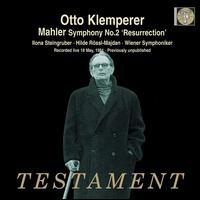"Mahler: Symphony No. 2 ""Resurrection"" - Hilde R�ssl-Majdan (mezzo-soprano); Ilona Steingruber (soprano); Wiener Akademie Kammerchor (choir, chorus);..."