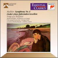 Mahler: Symphony No.4; Lieder eines fahrenden Gesellen - Frederica Von Stade (mezzo-soprano); Judith Raskin (soprano)