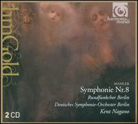 Mahler: Symphony No. 8 - Alena Manistina (alto); Detlef Roth (baritone); Jan-Hendrik Rootering (bass); Lynne Dawson (soprano); Robert Gambill (tenor);...