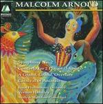 Malcolm Arnold: Symphony No. 2; Concerto for 2 pianos; etc.