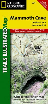 Mammoth Cave National Park - National Geographic Maps (Compiled by)