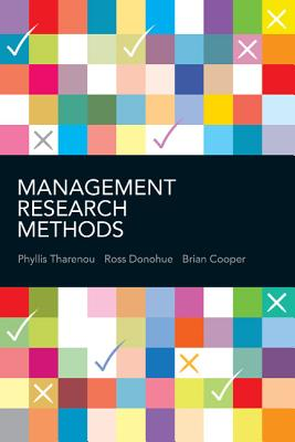 Management Research Methods - Tharenou, Phyllis