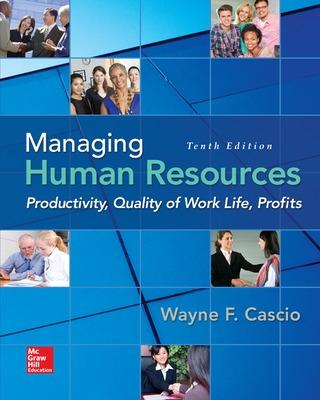Managing Human Resources - Cascio, Wayne
