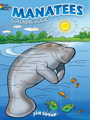 Manatees Coloring Book - Sovak, Jan