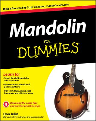Mandolin For Dummies - Julin, Don, and Tichenor, Scott (Foreword by)