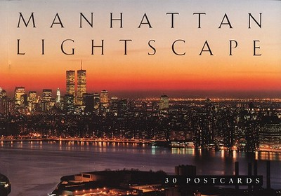 Manhattan Lightscape Postcard Book - Abbeville Gifts