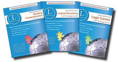 Manhattan LSAT Strategy Guides, Set of 3 - Manhattan LSAT