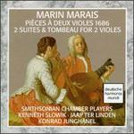 Marais: 2 Suites & Tombeau For 2 Violins
