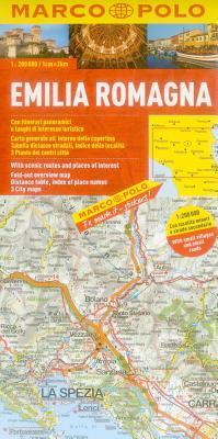 Marco Polo Karte Italien 06. Emilia Romagna 1: 200 000 -