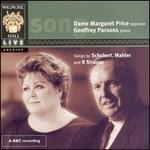 Margaret Price sings Schubert, Mahler & Strauss