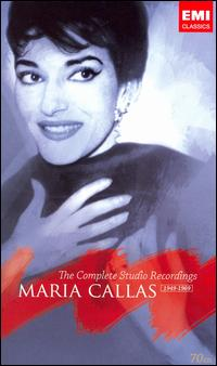 Maria Callas, The Complete Studio Recordings 1949-1969 - Adriana Lazzarini (vocals); Alberto Albertini (vocals); Aldo Biffi (vocals); Alexander Young (tenor);...