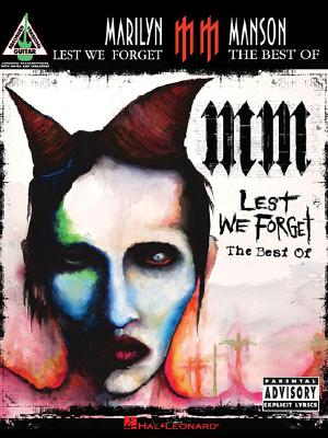 Marilyn Manson - Lest We Forget: The Best of - Manson, Marilyn