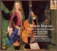 Marin Marias: Suitte d'un Goût Etranger  - Andrew Lawrence-King (harp); Jordi Savall (bass viol); Pedro Estevan (percussion); Philippe Pierlot (bass viol);...