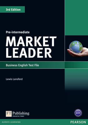 Market Leader 3rd edition Pre-Intermediate Test File - Lansford, Lewis
